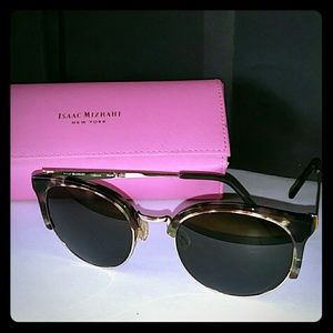 ISAAC MIZRAHI NEW YORK  SUNGLASSES